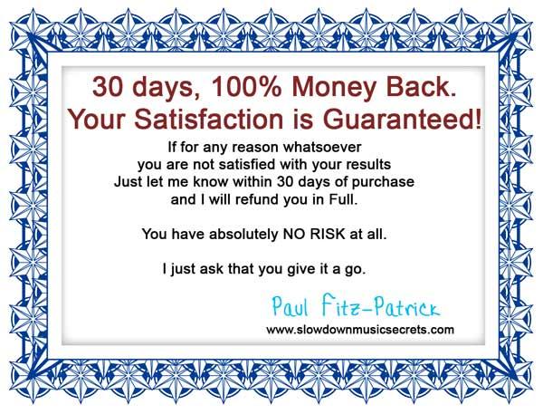 Guarantee Certificate Image