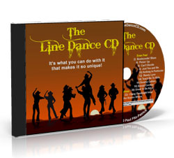 The Line Dance CD Front Image